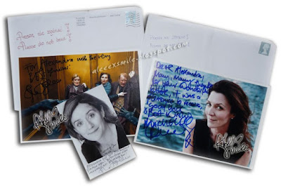Sophie Thompson, Michelle Fairley  - Autograf Harry Potter