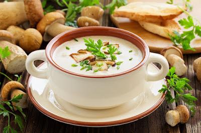 Mushroom Marvel Soup
