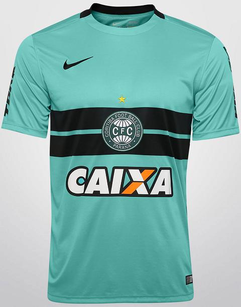 c715c5a81f Nike lança terceiro uniforme do Coritiba - Show de Camisas
