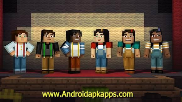 Download Minecraft Story Mode MOD Apk v1.14 Full OBB Data Terbaru Gratis