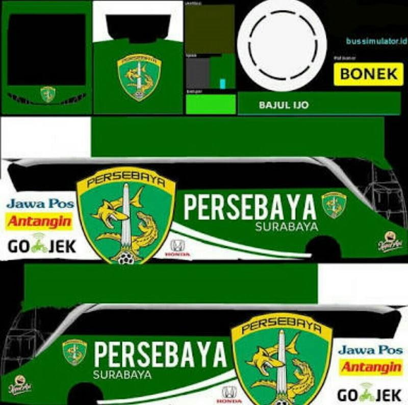 Download Stiker Bus Simulator Persebaya