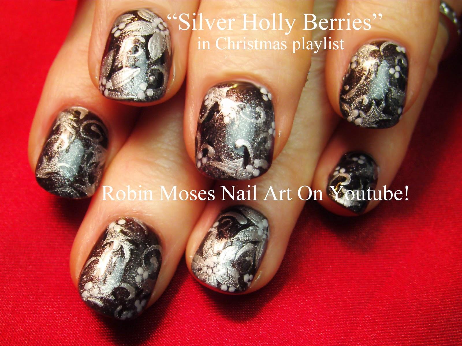 Nail Art By Robin Moses Christmas Nails Xmas Nails Xmas Nail
