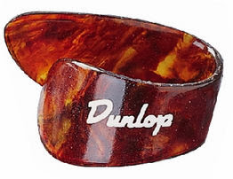 Púa de pulgar Dunlop.