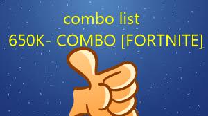 650K- COMBO [FORTNITE]