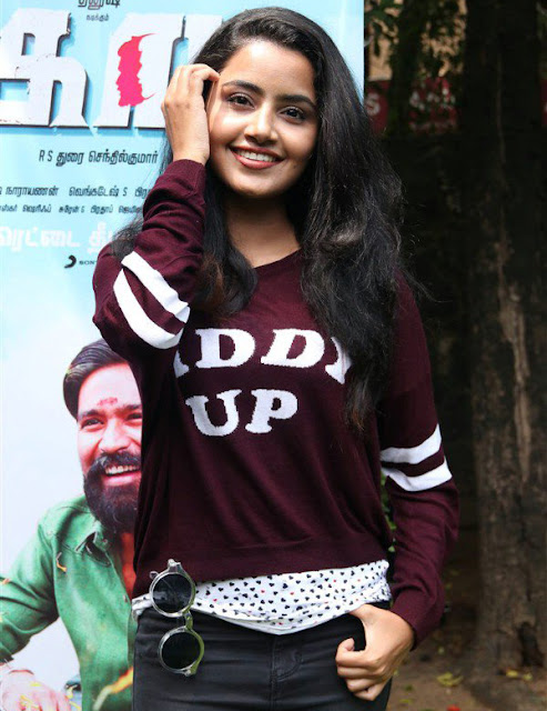 Anupama Parameshwaran at Kodi Tamil Movie Audio Launch