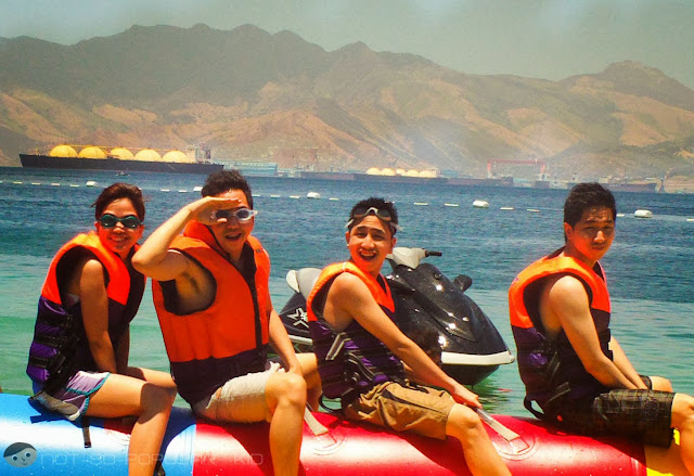 Banana Boat Ride in Subic near Oceanview Resort