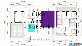 Inspirasi Desain Rumah Villa Mewah 2 Lantai Berukuran 11x13m