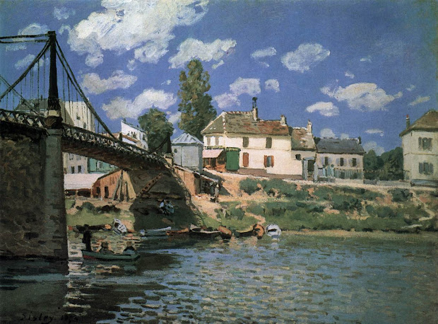 Alfred Sisley Famous Paintings