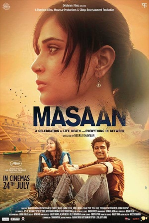 Masaan 2015 Hindi 480p DVDRip 300mb ESub