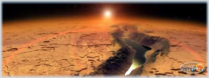 água líquida em Marte
