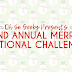 2nd Annual Merry Fictional Challenge