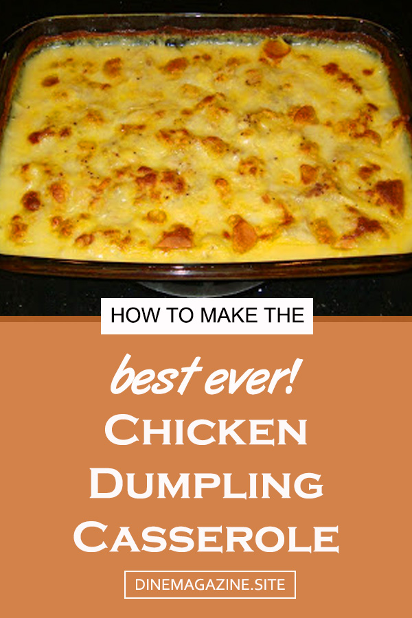 Chicken Dumpling Casserole Recipe | chicken casseroles recipes | chicken casserole dish | chicken casserole dinner | casseroles chicken | best chicken casserole #chickendinner #chickencasserole #dinner #chickenrecipe #casserole #maindish #dumpling #chickendumpling