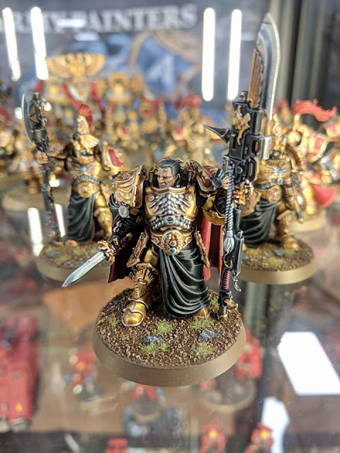Shield Captain Adeptus Custodes