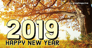 2019 happy New year in English literature
