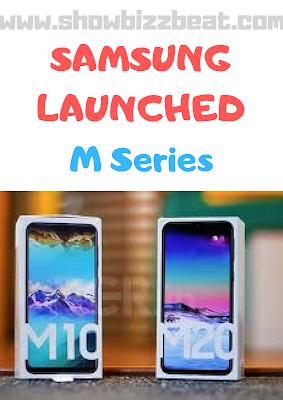 Samsung introduced M10 & M20 From Samsung Galaxy M Series
