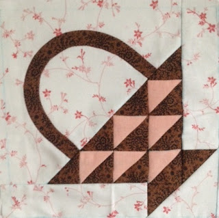 Blok 28 1865 Passion sampler quilt