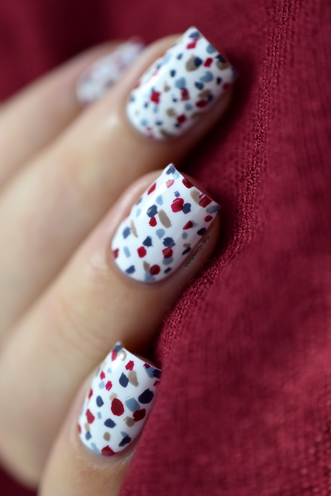 Quick Amp Easy Festive Nail Art No Tools Required Nail Art Festif Hyper Simple Sans Mat 233 Riel