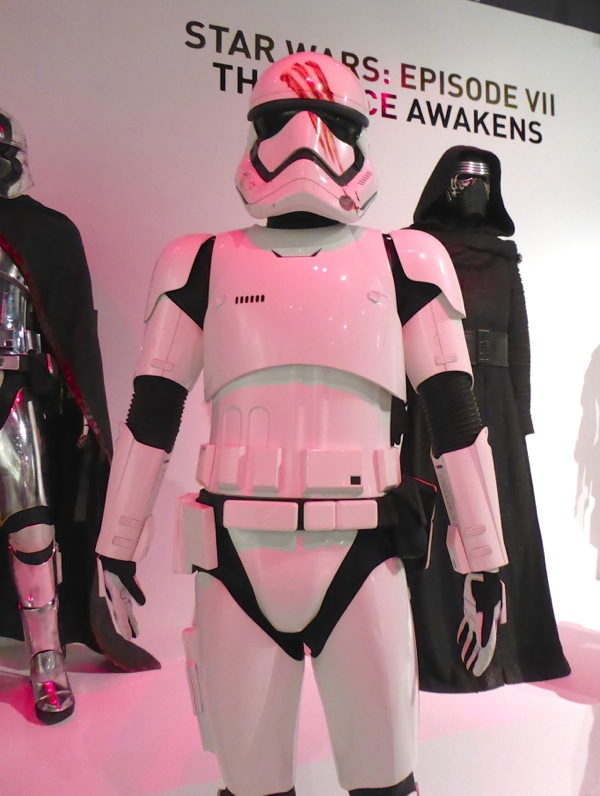 Finn FN-2187 Stormtrooper costume Star Wars Force Awakens
