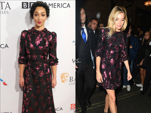 """👗Who Wore it Better: The Vampire's Wife """"Cate"""" dress"""