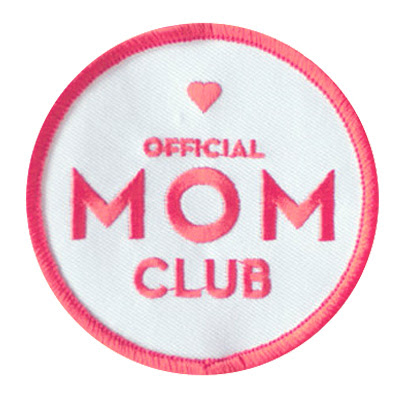 Mom Club Patch from Constellation Co.