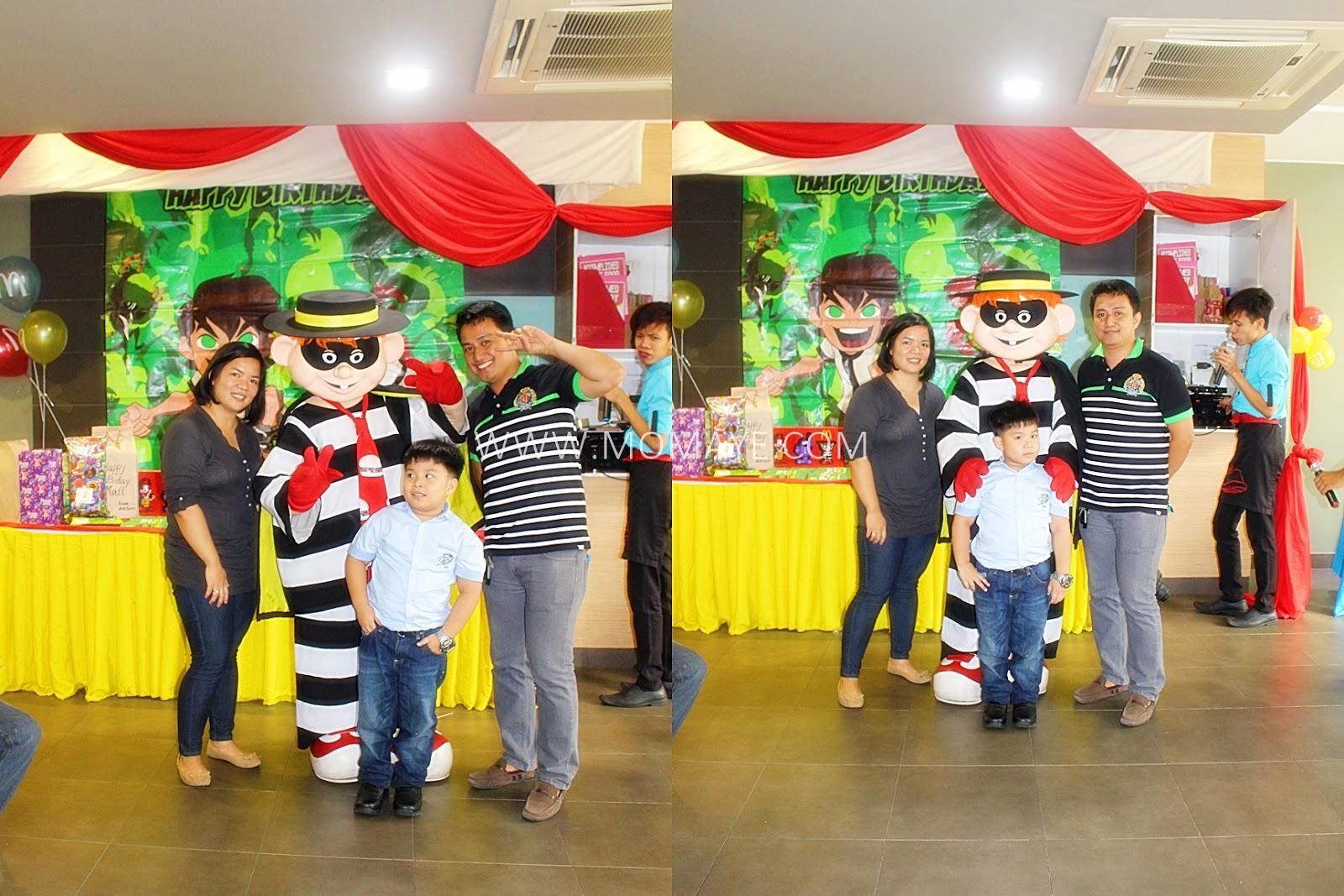 7th Birthday McDonalds McCelebration