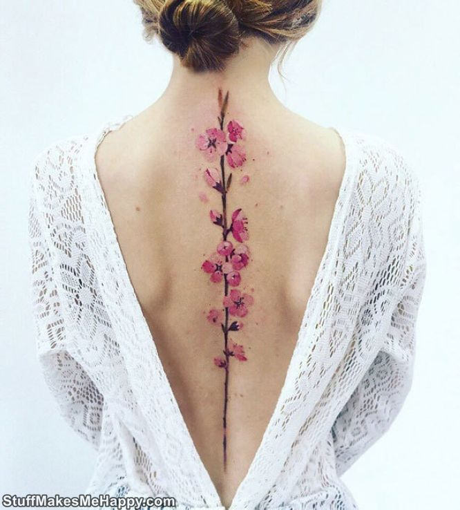 Spine Tattoo Ideas Ever