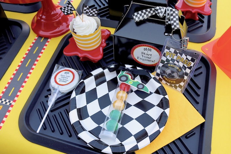 Race Car Party Ideas Ft Mickey And The Roadster Racers Laura S Little Party