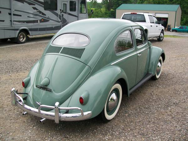 Rare 1957 VW Oval Window
