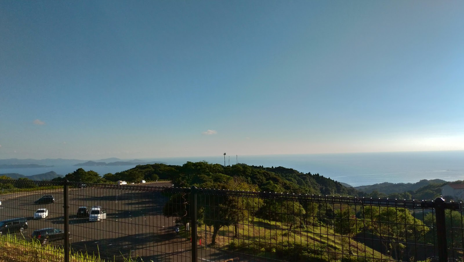 長崎市でバーベキューをするならあぐりの丘の風景