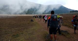 Pendakian Gunung Gede via Putri