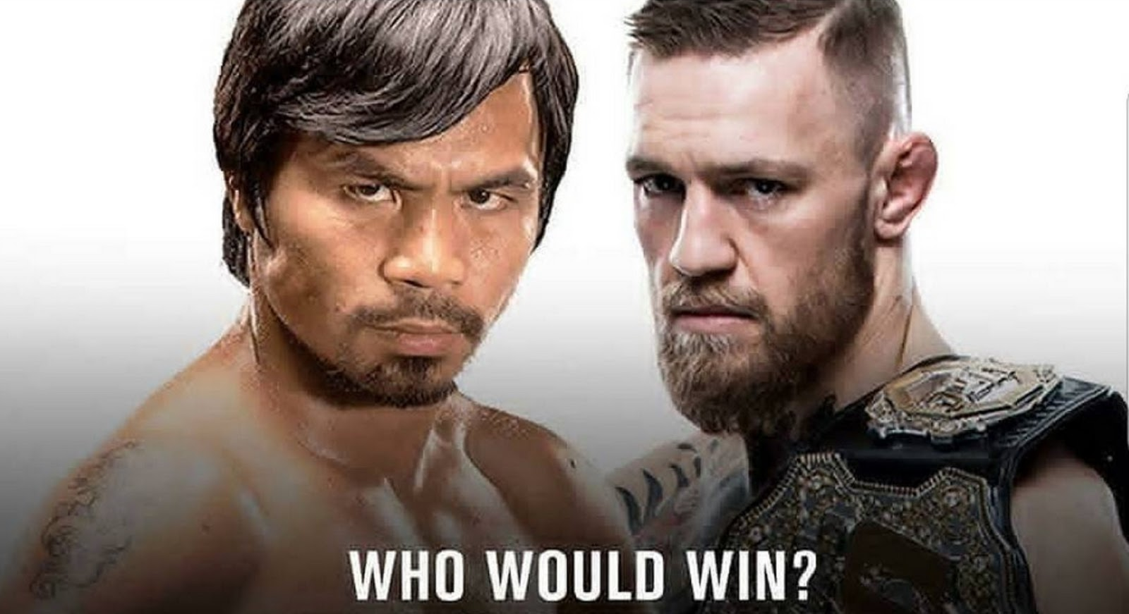 CONOR MCGREGOR VS MANNY PACQUIAO 5