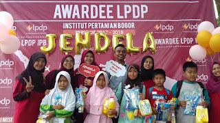 Jelajah dan Edukasi di Alam Terbuka Awardee LPDP IPB