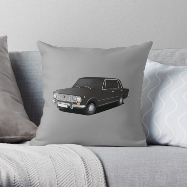 vaz-2101 Lada 1200 decor pillows