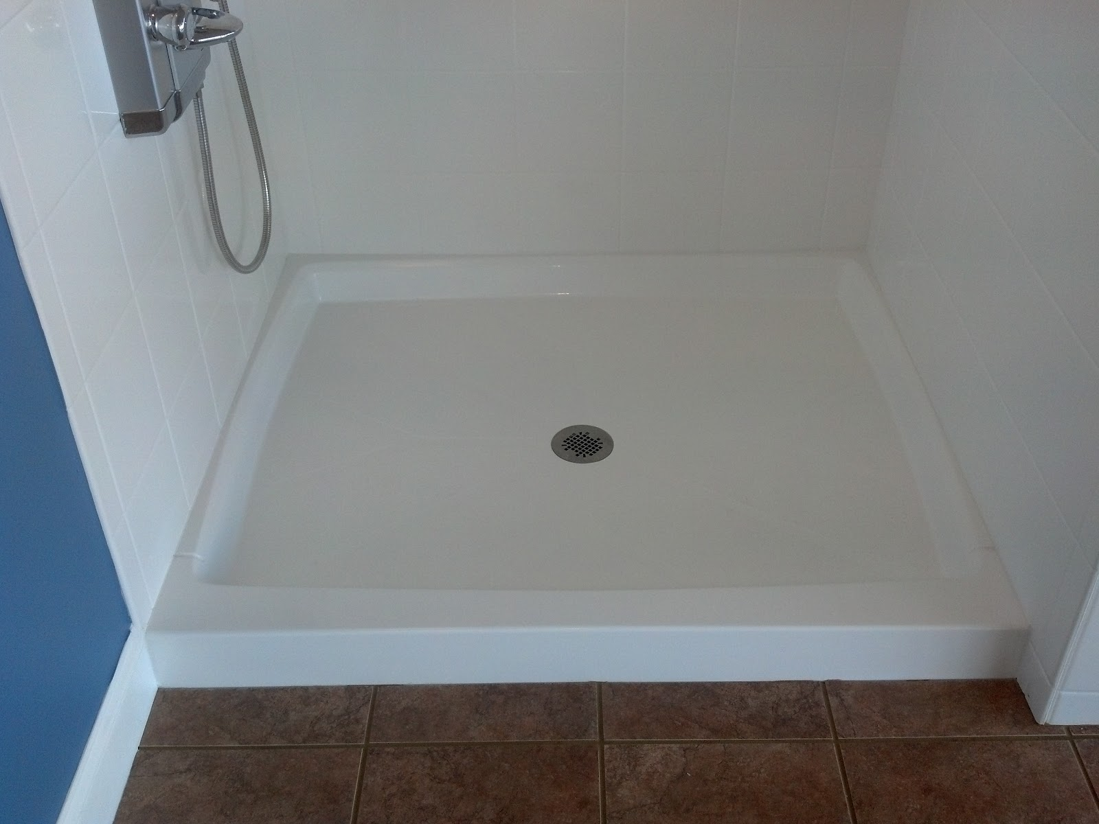 60 By 32 Shower Base Shower Base C And D Cultured Marble Inc