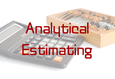 Analytical Estimating in Construction