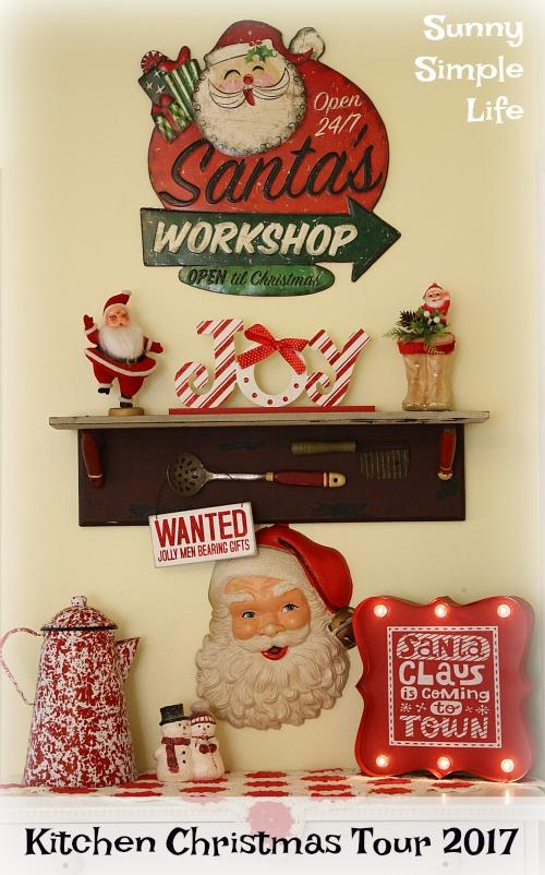 vintage Christmas, vintage Santas