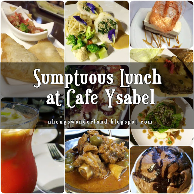 Sumptuous Lunch at Cafe Ysabel