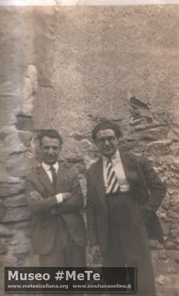 Luigi Basile e Alfonso Attanasio Siculiana 1920