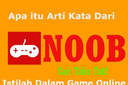 Arti Kata Noob Istilah Dalam Game Online