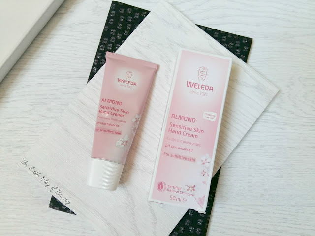 Weleda Almond Sensitive skin hand cream