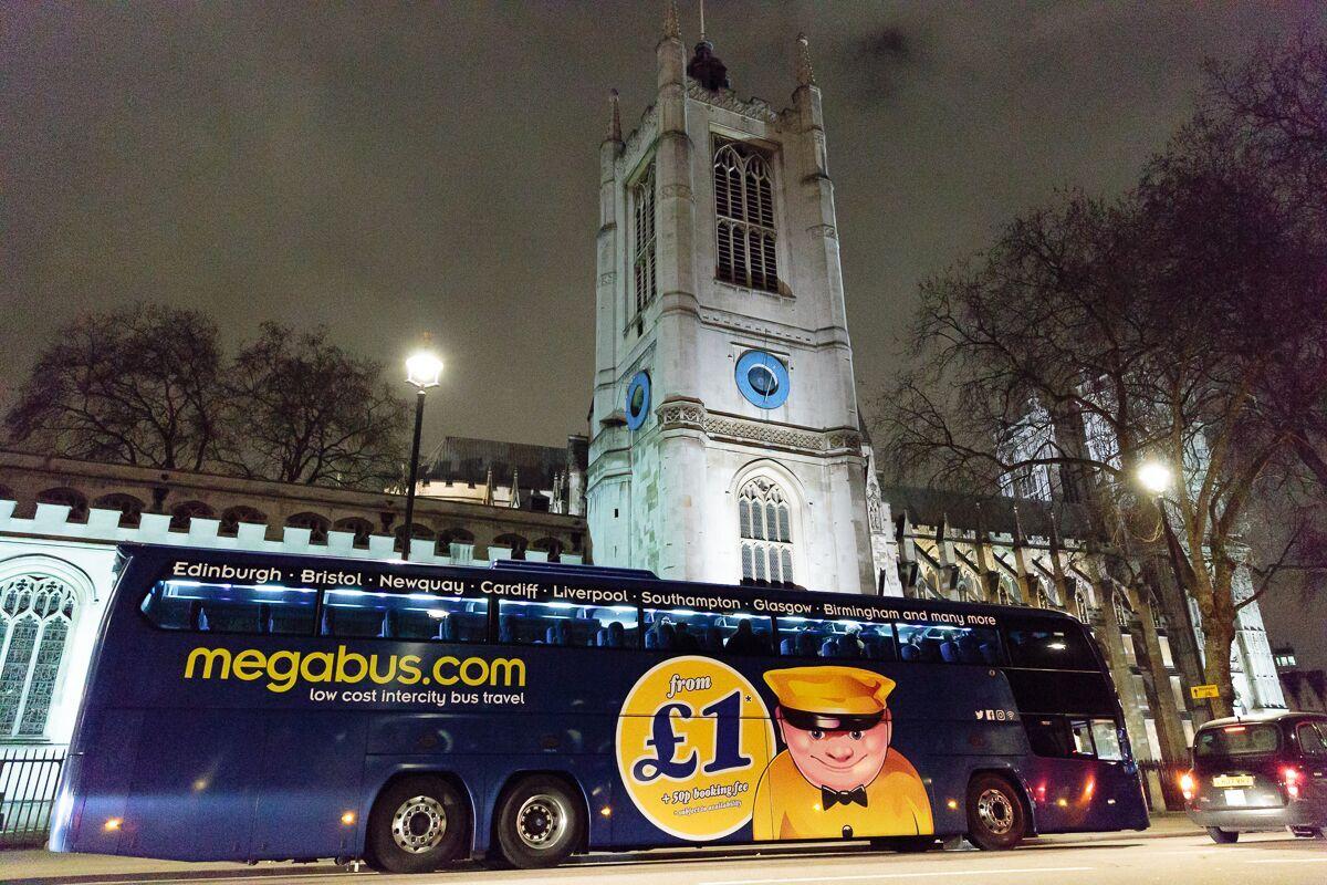 MegaBus Mystery Tour Bus