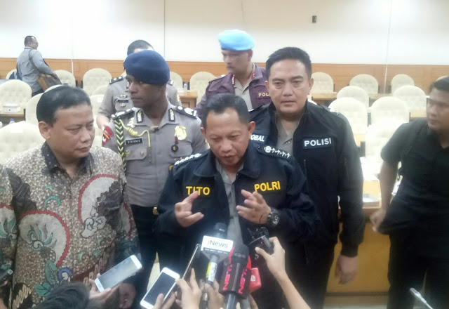 DPR Tak Sepakat Proses Hukum Ditunda, Kapolri: Asal Jangan Dikatakan Kriminalisasi