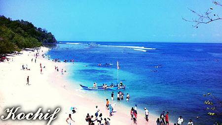 Gambar Pantai Pangandaran (Jawa Barat)