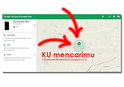 cara melacak hp android yang hilang lewat internet dengan email gmail