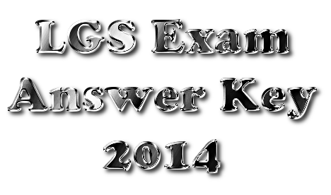 Last Grade Servants [LGS] Exam Ernakulam Answer Key 20-12