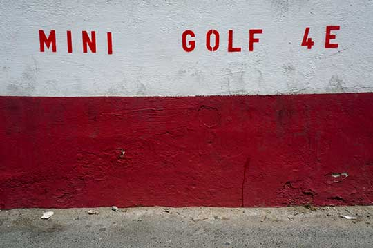 mini golf, urban photography, contemporary, art, photography, Sam Freek,