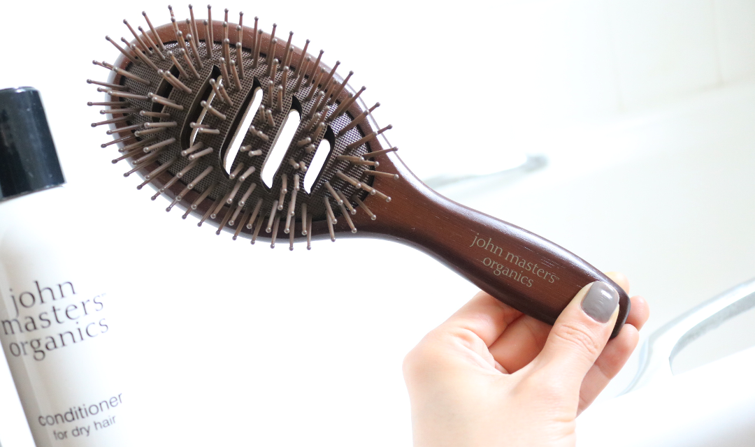 John Masters Organics Vented Paddle Brush