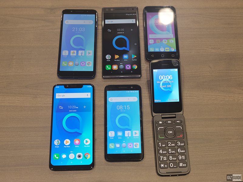 List of new Alcatel phones in the Philippines