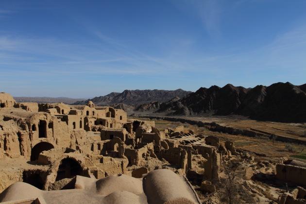 Abandoned city of Kharanaq near Yazd, Iran