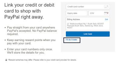 Cara Membuat Akun Paypal Baru 2016